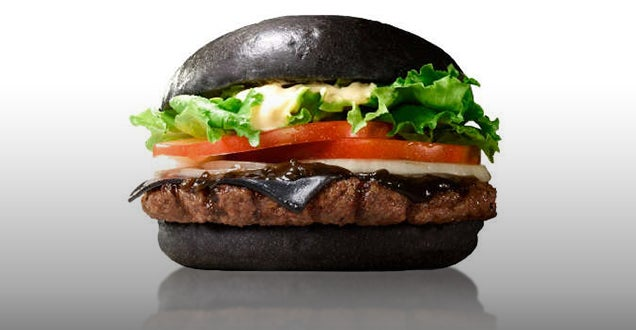 Burger King's new all-black burger has black buns, cheese, and sauce