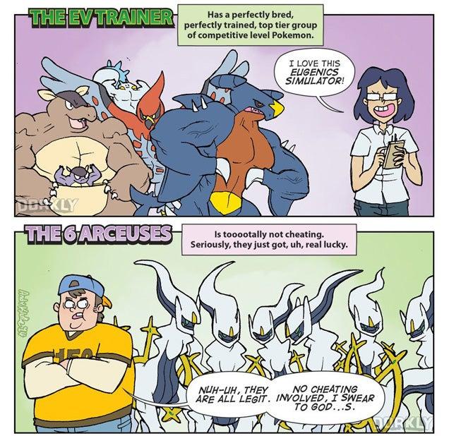 Seven Types Of Pokémon Players