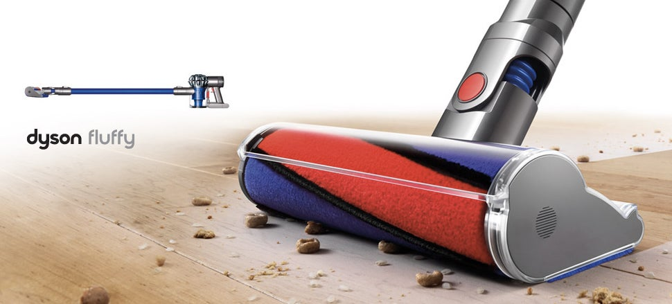 The Fluffy Is Dyson's Answer To Dusty, Dirty Hardwood Floors