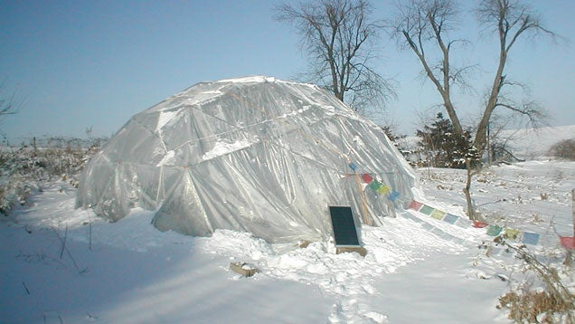 Build a Dome Greenhouse for Cheap