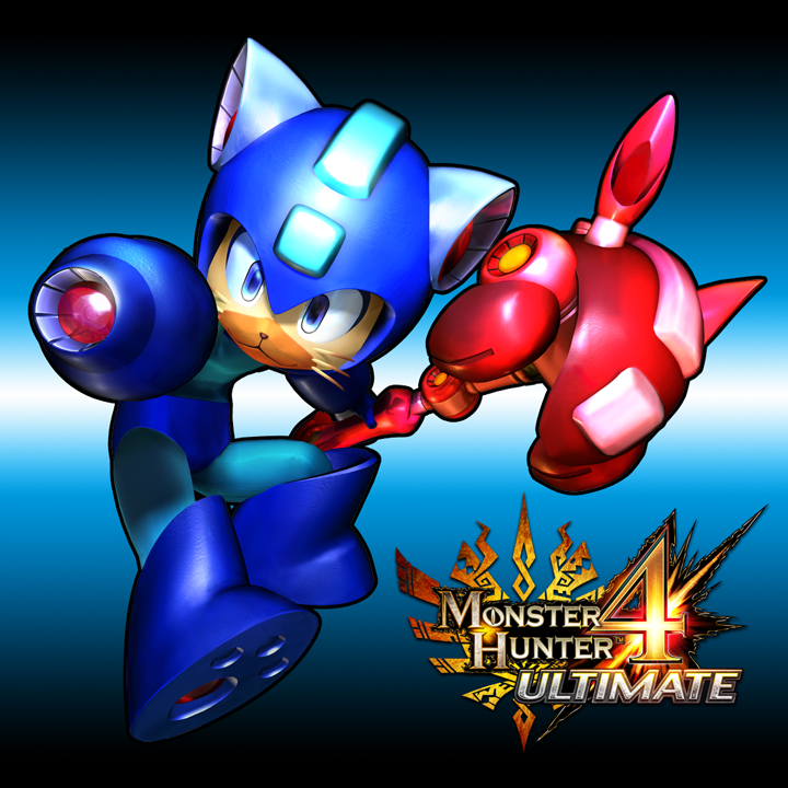 Mega Man Gets The Best Monster Hunter 4 Ultimate Tie-Ins