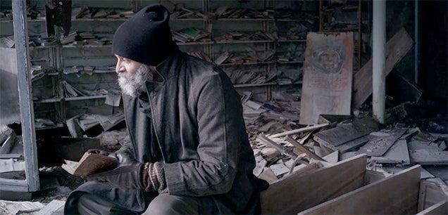 A man returns to Chernobyl after leaving decades ago