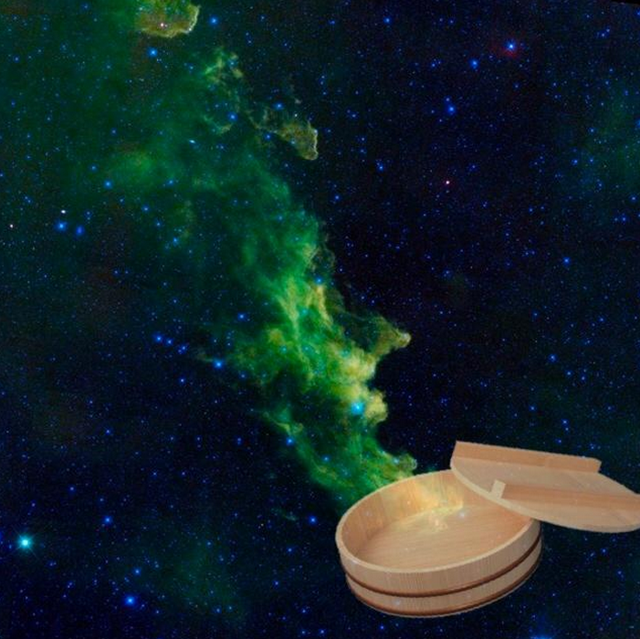 These pictures of sushi floating in the space are truly awesome