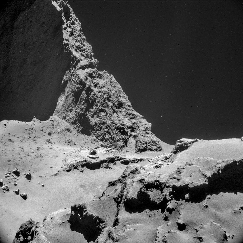 Scientists reveal the sound of the comet 67P/Churyumov -- Gerasimenko