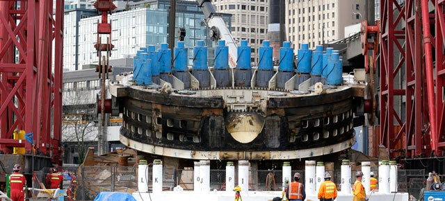 The World's Largest Tunnelling Machine Is (Finally) Getting Rescued