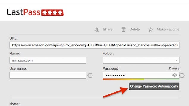 LastPass Can Now Automatically Change Your Passwords