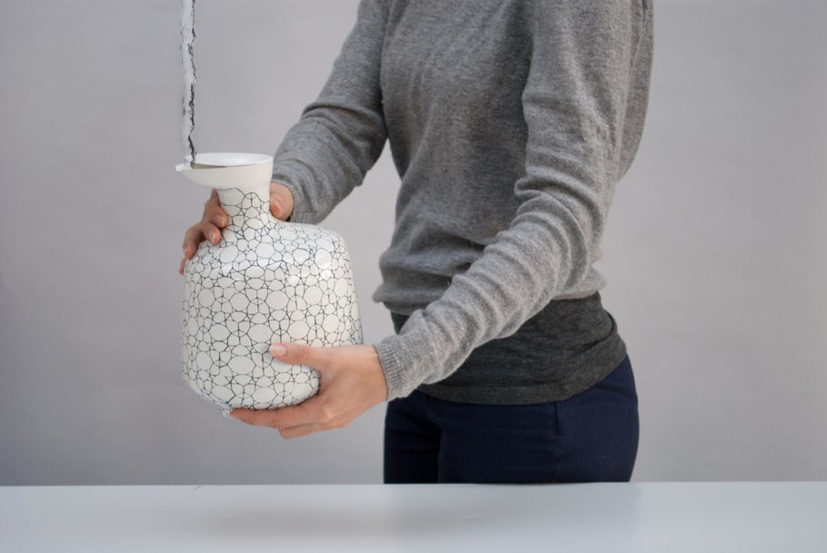 3D-Printed Electric Water Kettle Inspired by Nautilus Shells
