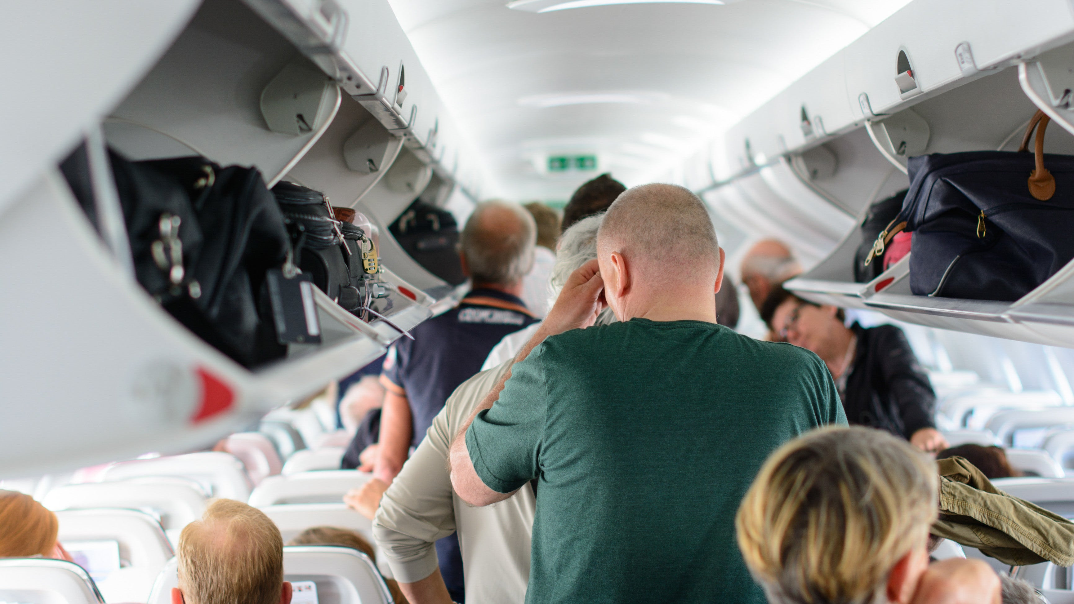What's The Correct Etiquette For Getting Off A Plane?