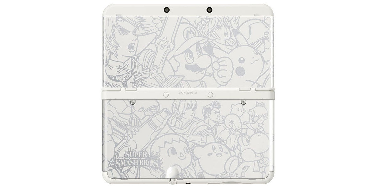 I'm Very Jealous Of This Pretty New 3DS