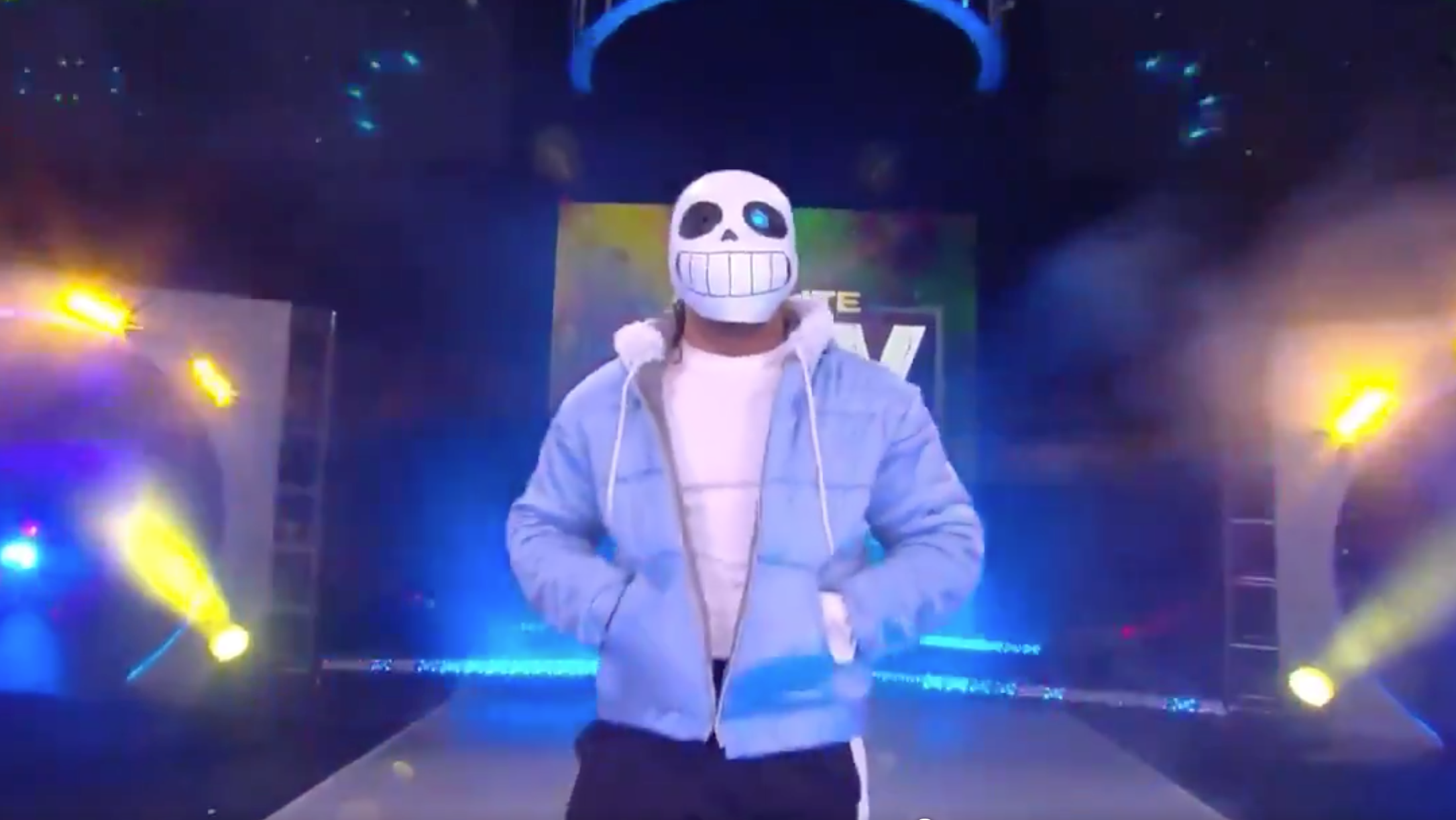 Sans From Undertale Is A Wrestler Now