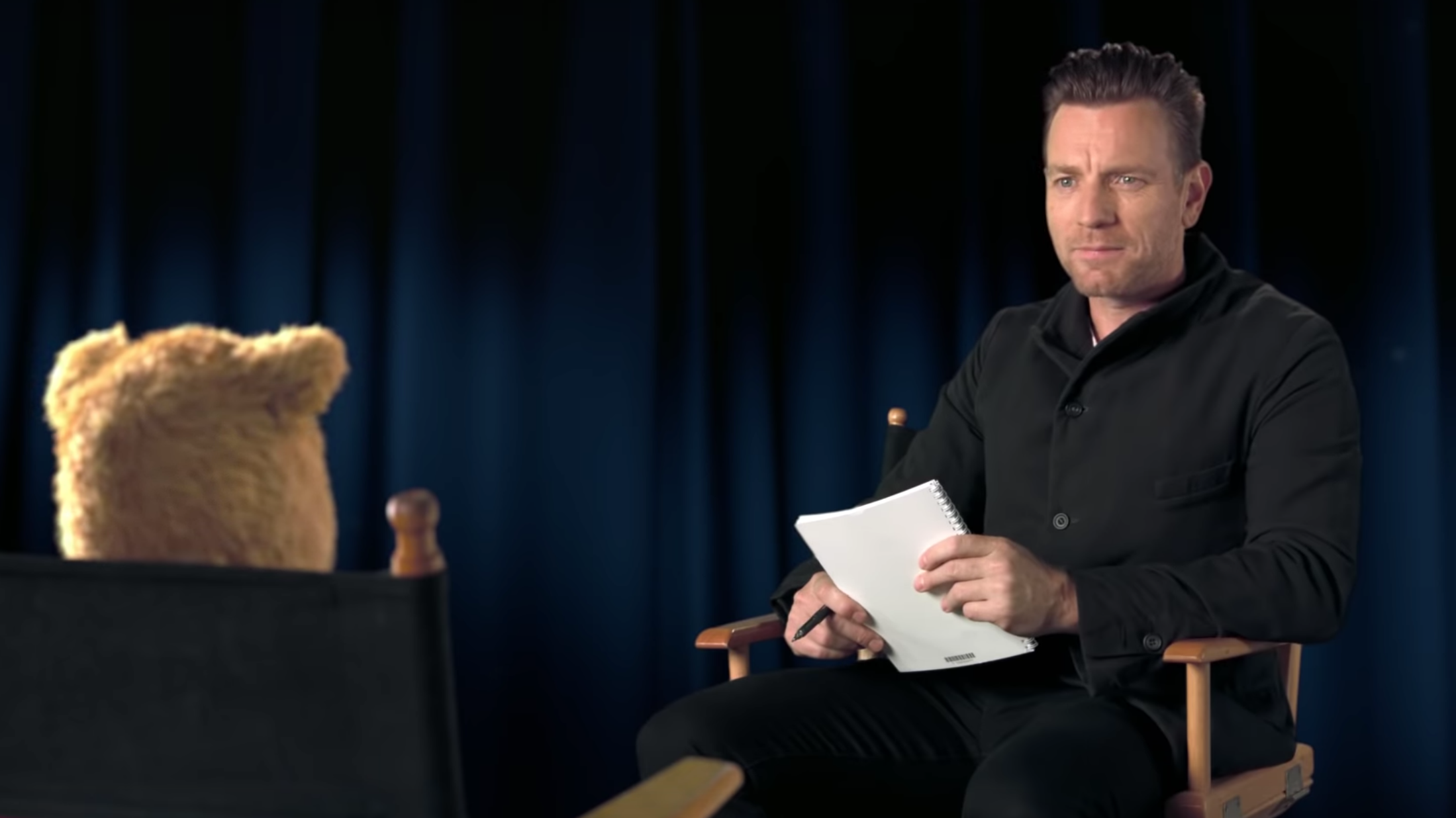 I Can Relate To Ewan McGregor Struggling To Interview Winnie The Pooh