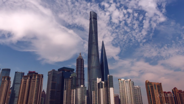 This Timelapse of Shanghai Tower Construction Is the Most Spectacular Thing You'll See All Day