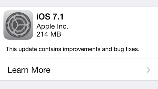 IOS 7.1 Is Out with Siri Update, Visual Tweaks, and CarPlay Support
