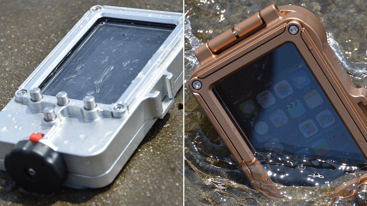 This Waterproof Case Lets You Dive With Your iPhone To Over 300 Feet