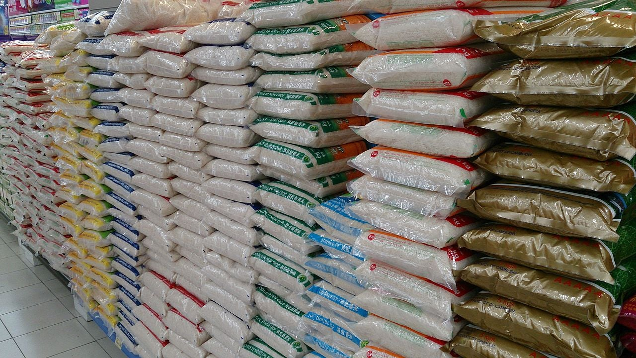 Officials Seize Over 100 Bags Of Fake Plastic Rice In Nigeria