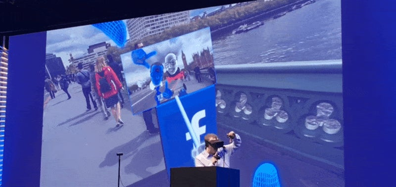 Facebook Shows Off How They Might Use Virtual Reality