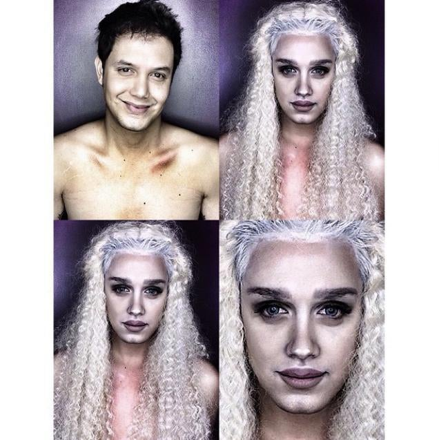 One Man's Incredible Make-Up Transformations