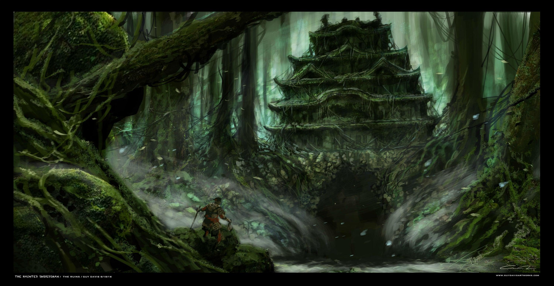 Fantasy Art Swordsman