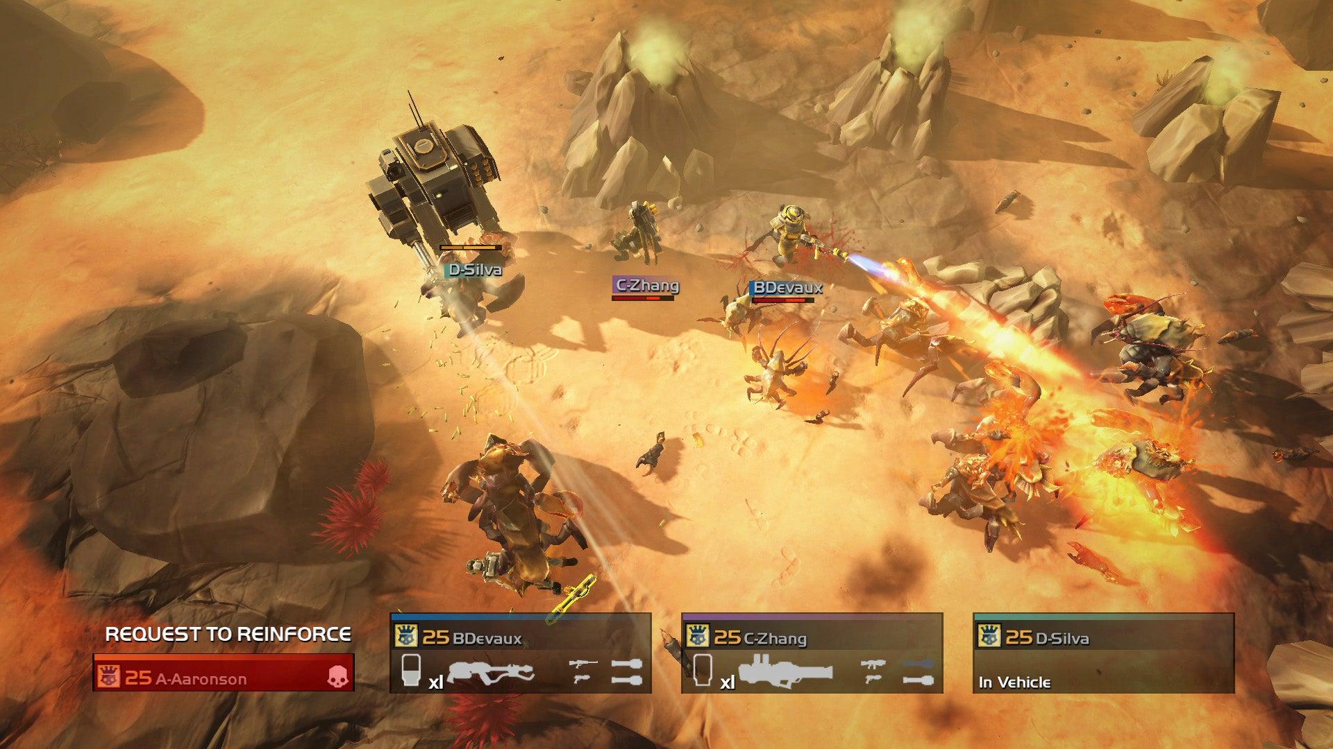 Helldivers, Nom Nom Galaxy Headline February's PS Plus Lineup
