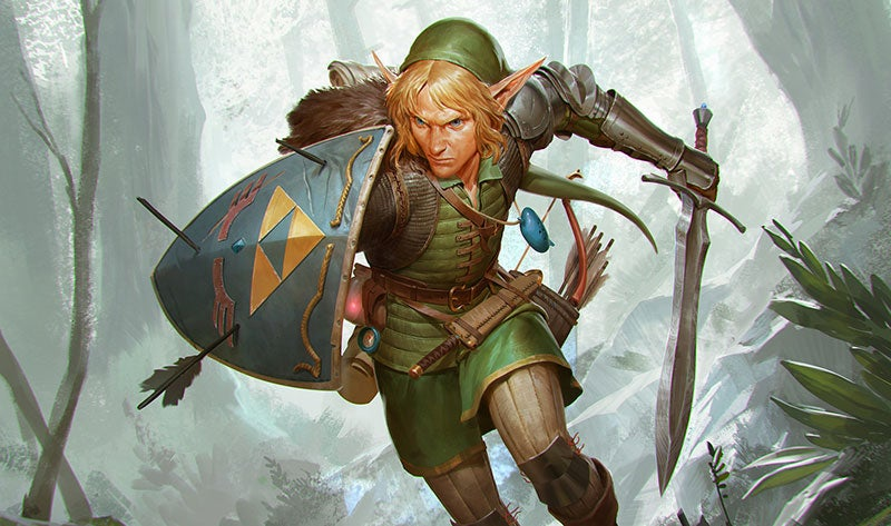 Link Grows Up Can Now Actually Carry All That Stuff & Fine Art: Link Grows Up Can Now Actually Carry All That Stuff ...
