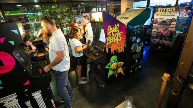 The Slapstick Fighting Game That Took Over An Entire Festival