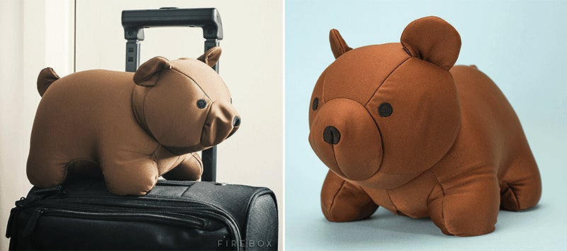 Conquer Your Fear of Flying With This Brave Transforming Bear Pillow