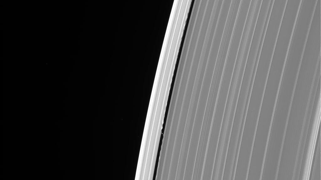 Cassini Took One Last Look At A Mysterious Glitch In Saturn's Rings Before It Died