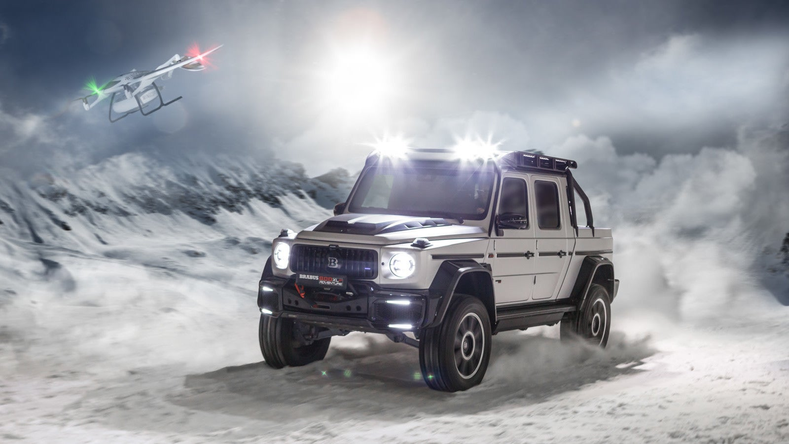 This Brabus-Tuned G-Wagen Is A 789-HP Pickup For Power-Mad Dictators