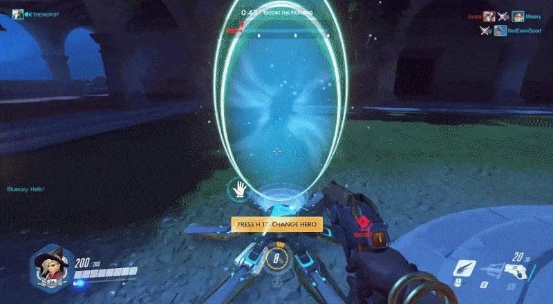 Overwatch Player Gets Revenge On Cocky Symmetra Troll