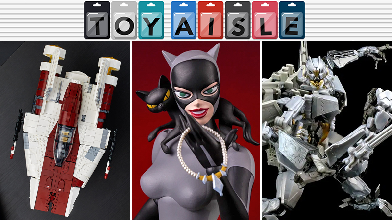 Catwoman Gets A Glorious Animated Series Action Figure, And More Purrfect Toys