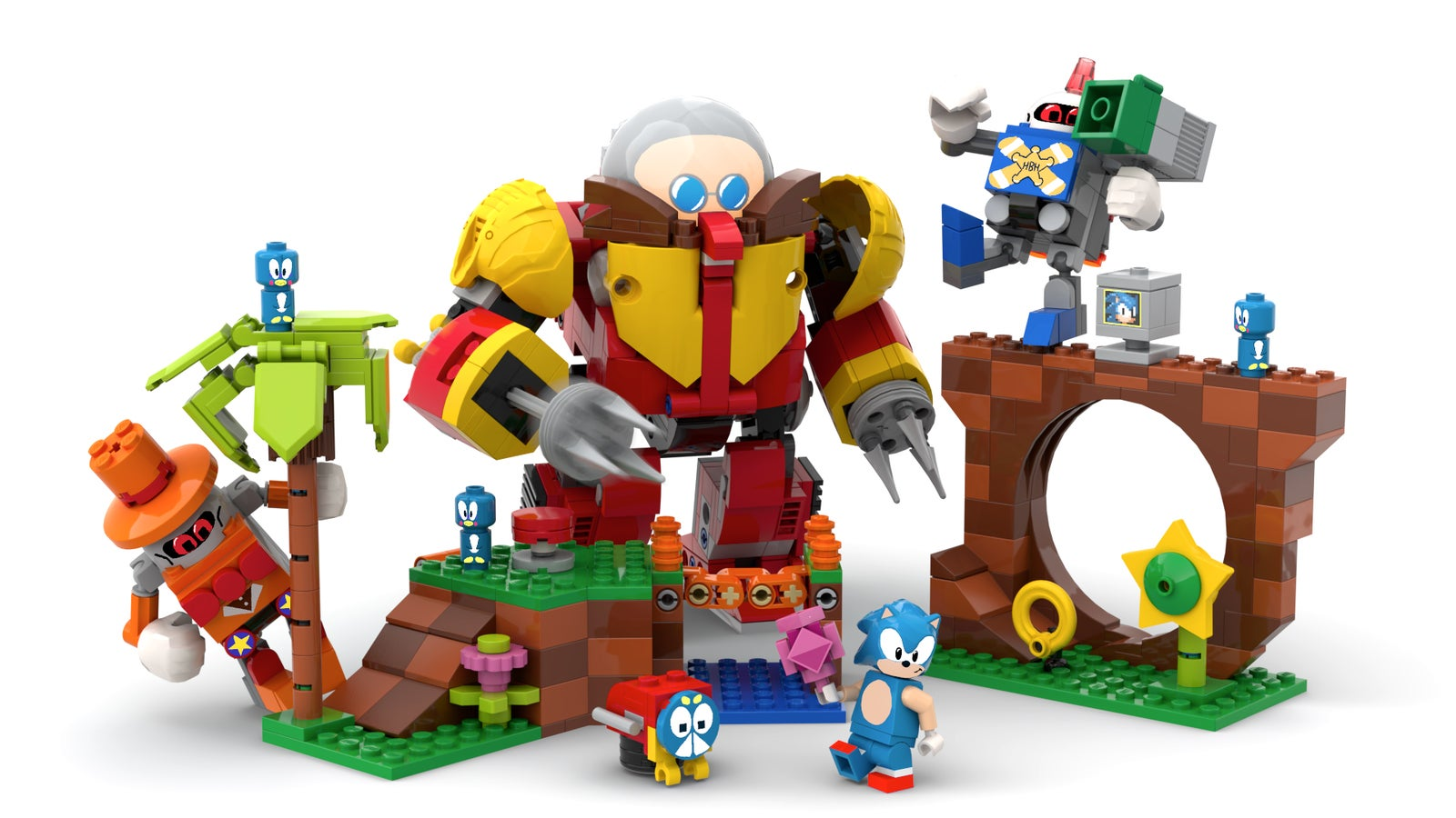 Lego Is Looking Into Making This Excellent Sonic Mania Set