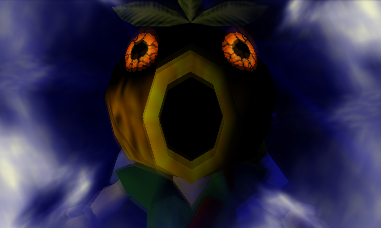 Donnie Darko Mixed With Majora's Mask Works Surprisingly Well