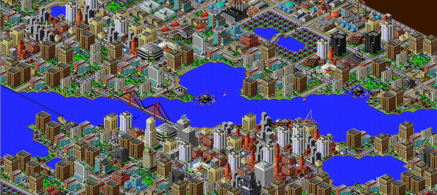 The Best SimCity Is Now Free