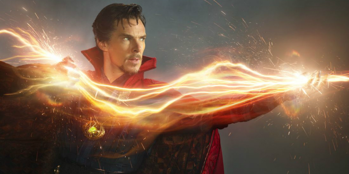 See Bendict Cumberbatch's Doctor Strange Take the Streets of Manhattan and Beg For A Meme