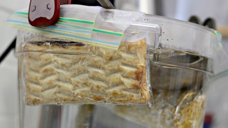 Will It Sous Vide? We Experiment With Pizza Pockets