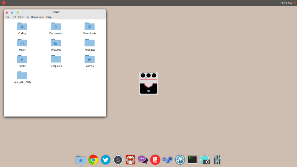 The Flat N' Fuzzy Desktop