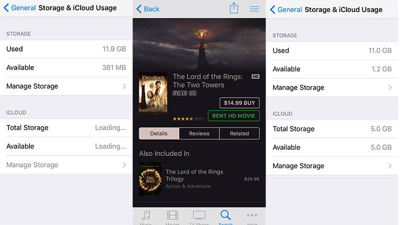 Why Does Lord of the Rings Clear Up Space on Your iPhone?