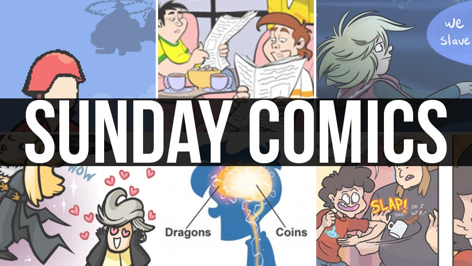 Sunday Comics: Gastric Juices