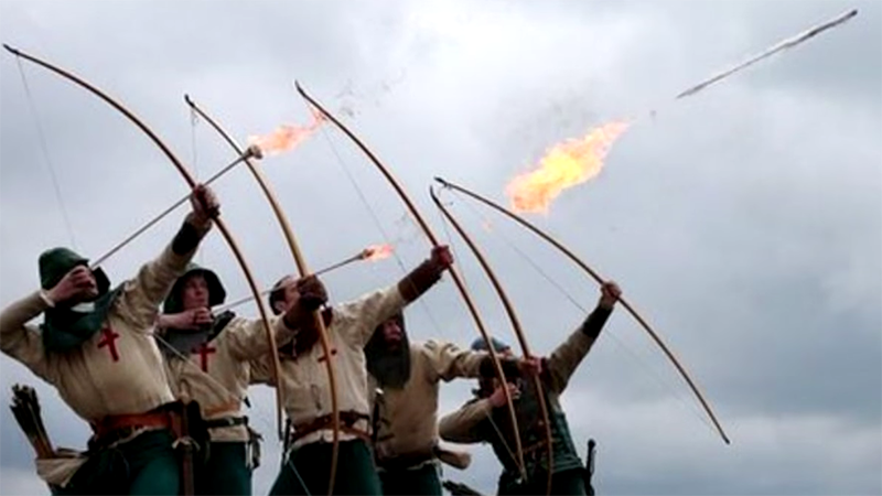 Sorry But Medieval Armies Probably Didn't Use Fire Arrows