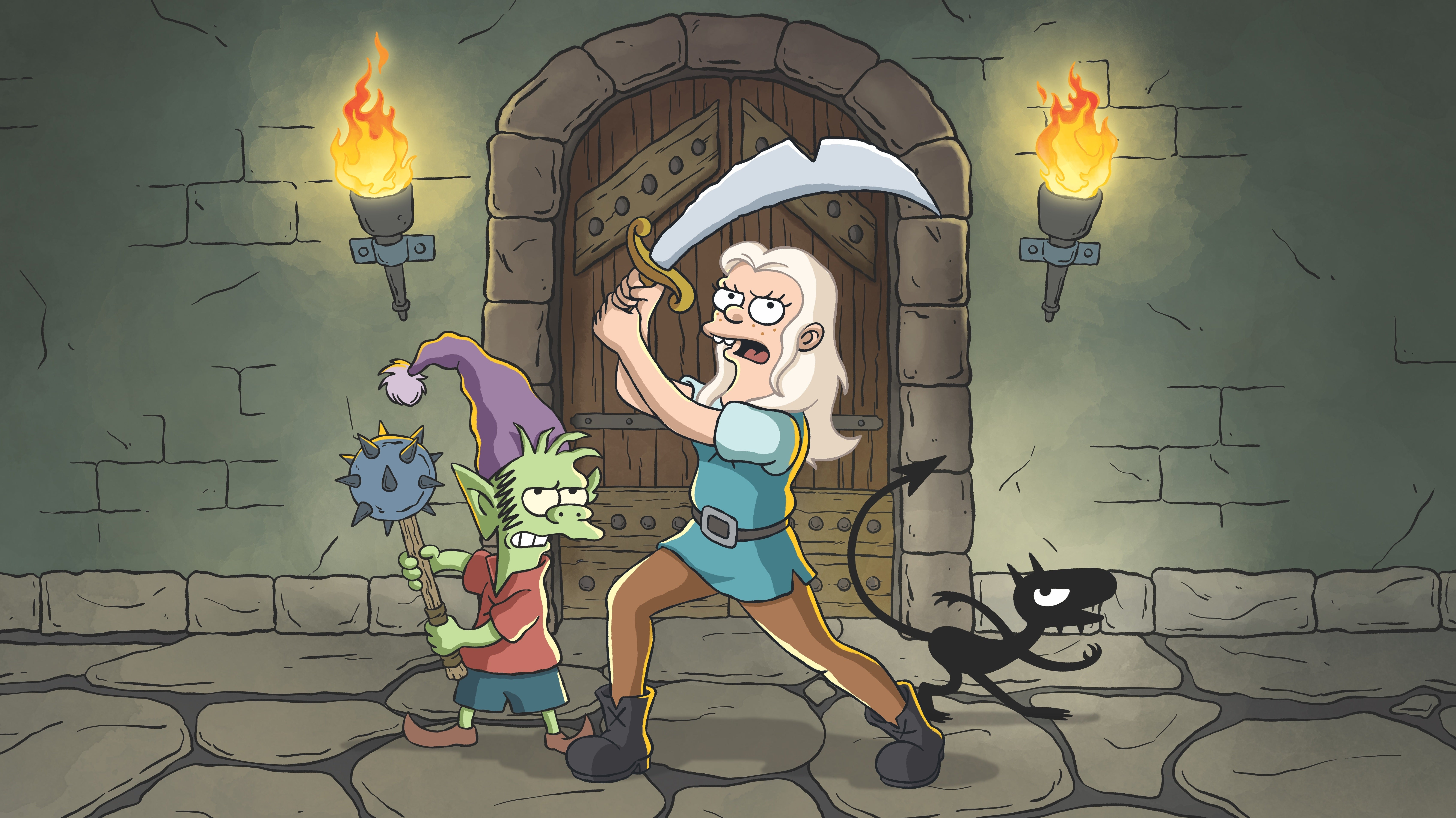 The First Disenchantment Teaser Is A Glimpse Into Matt Groening's Magical New Fantasy World