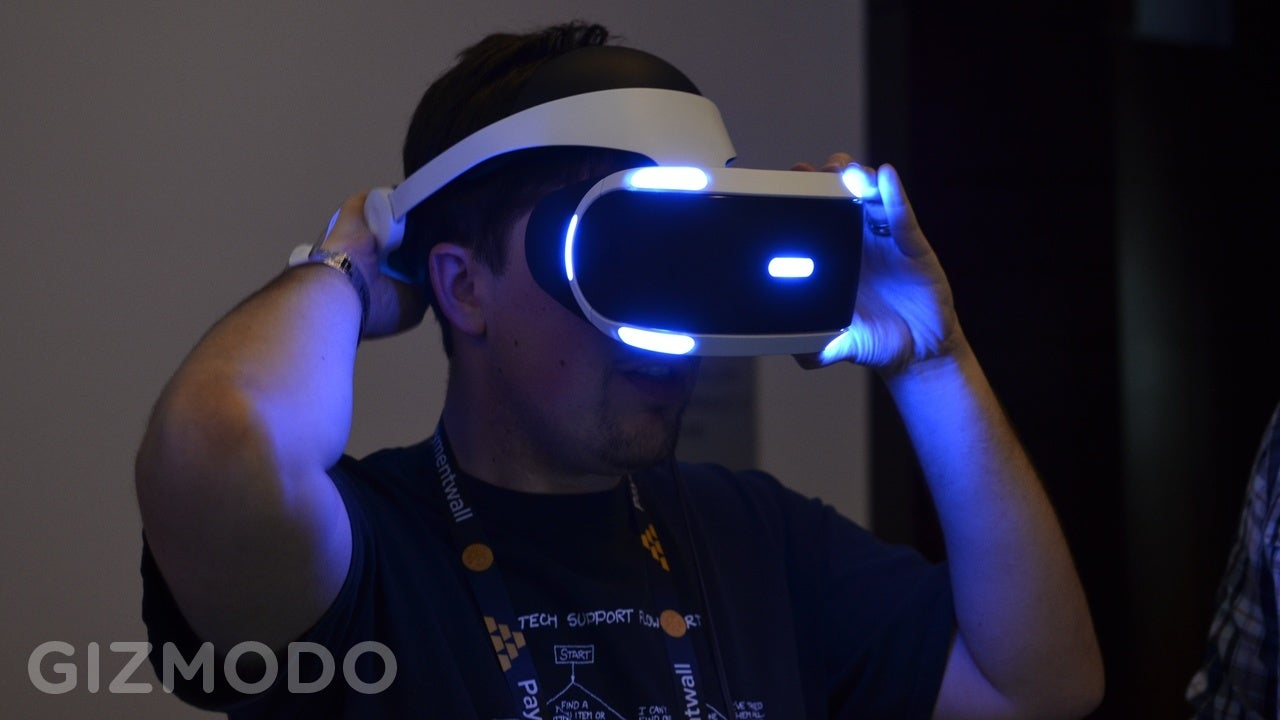 Hands On: Sony's New Morpheus Is The Best VR Headset Yet