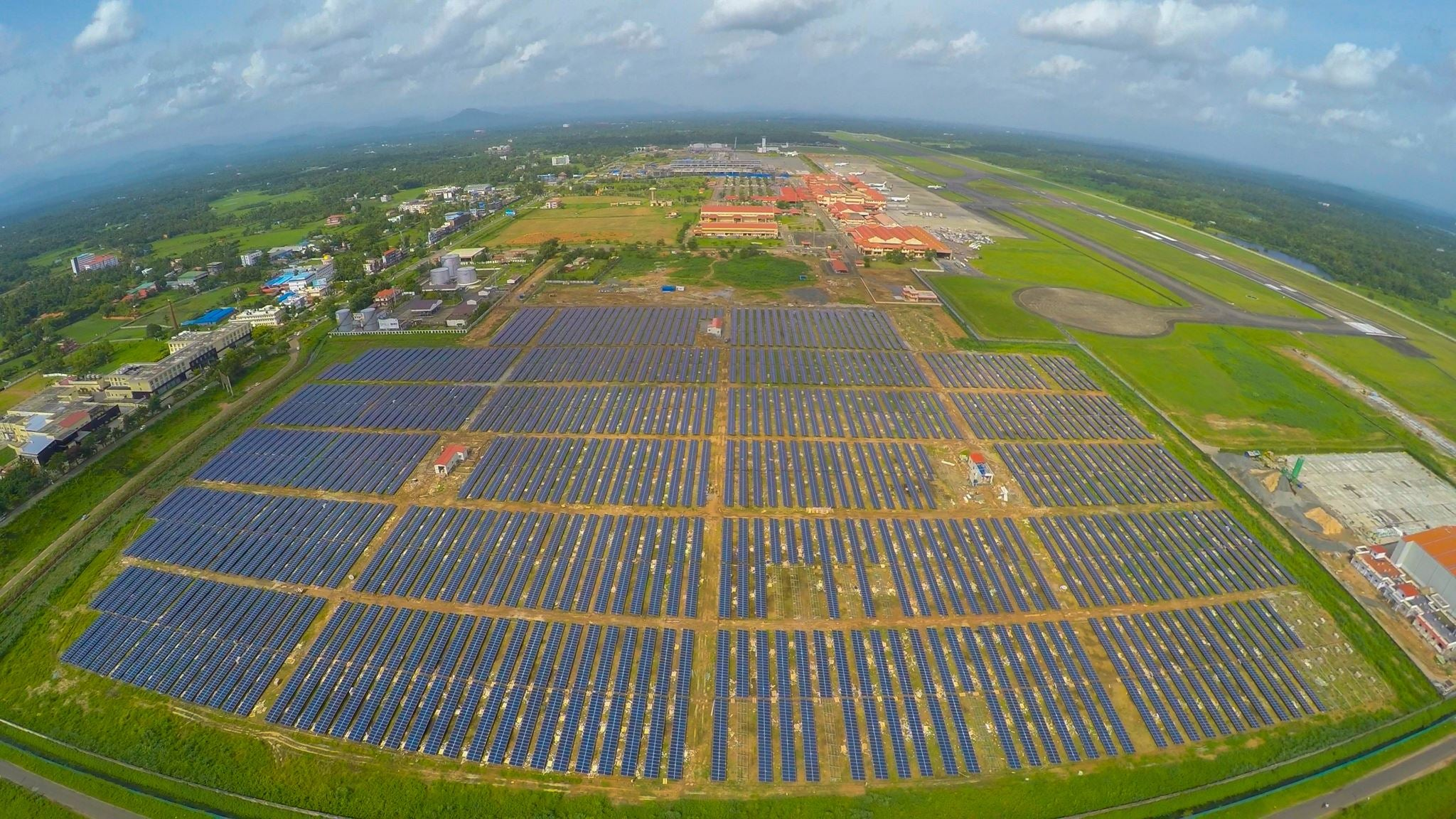 Here's the First Airport to Run 100% on Solar Power