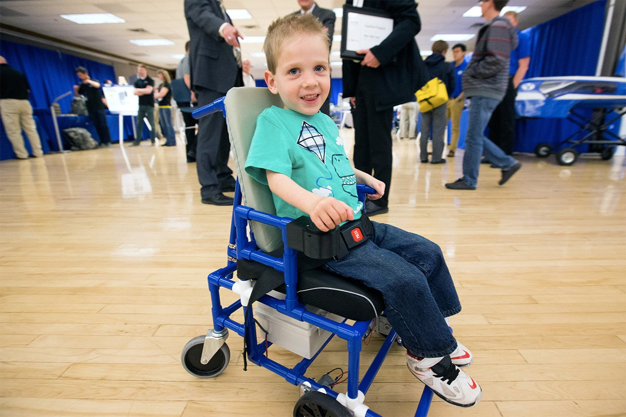 Students Built the World's Smallest Electric Wheelchairs