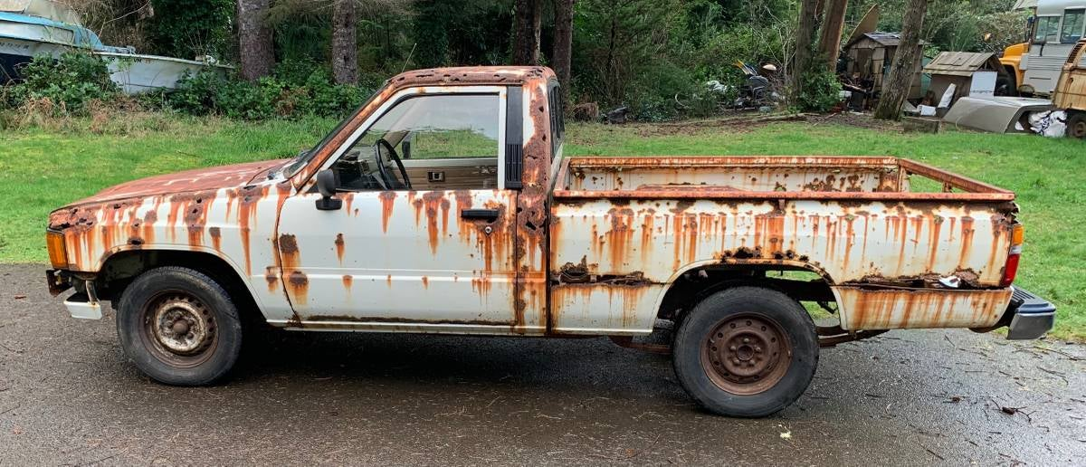 This Might Be The Rustiest Pickup Truck In America