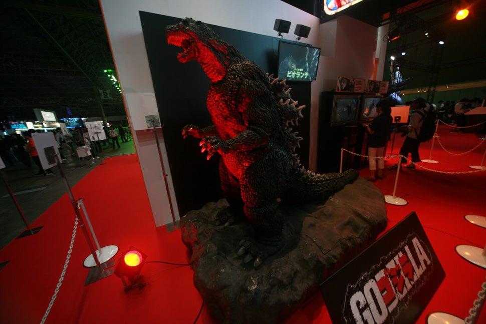 The Monsters and Giant Mecha of the Tokyo Game Show