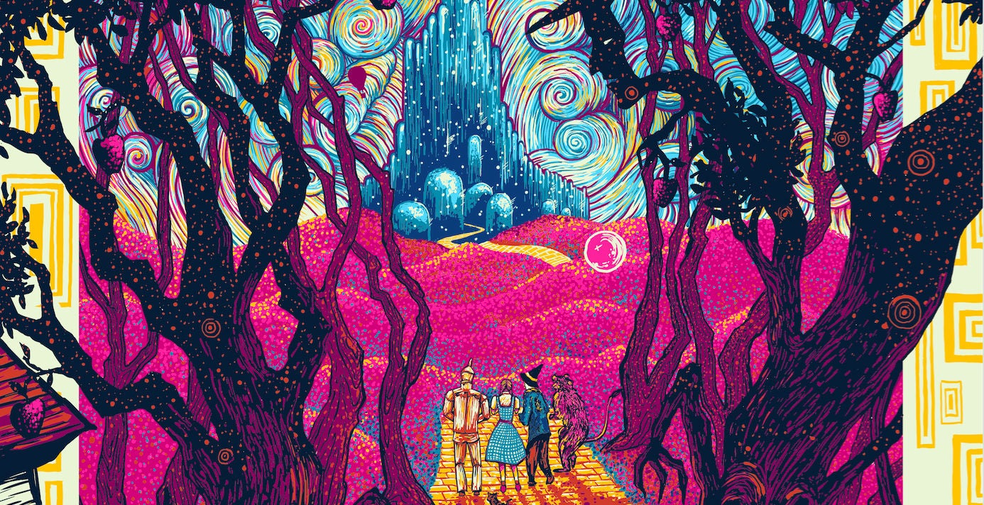 These New Wizard Of Oz Posters Are Trippy As Hell