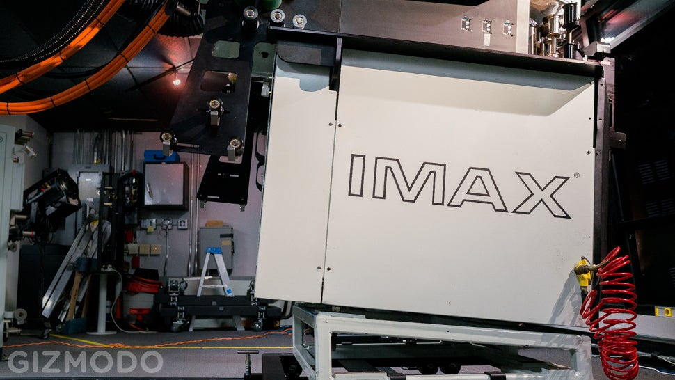 Behind the Scenes at the Best IMAX Theatre in America