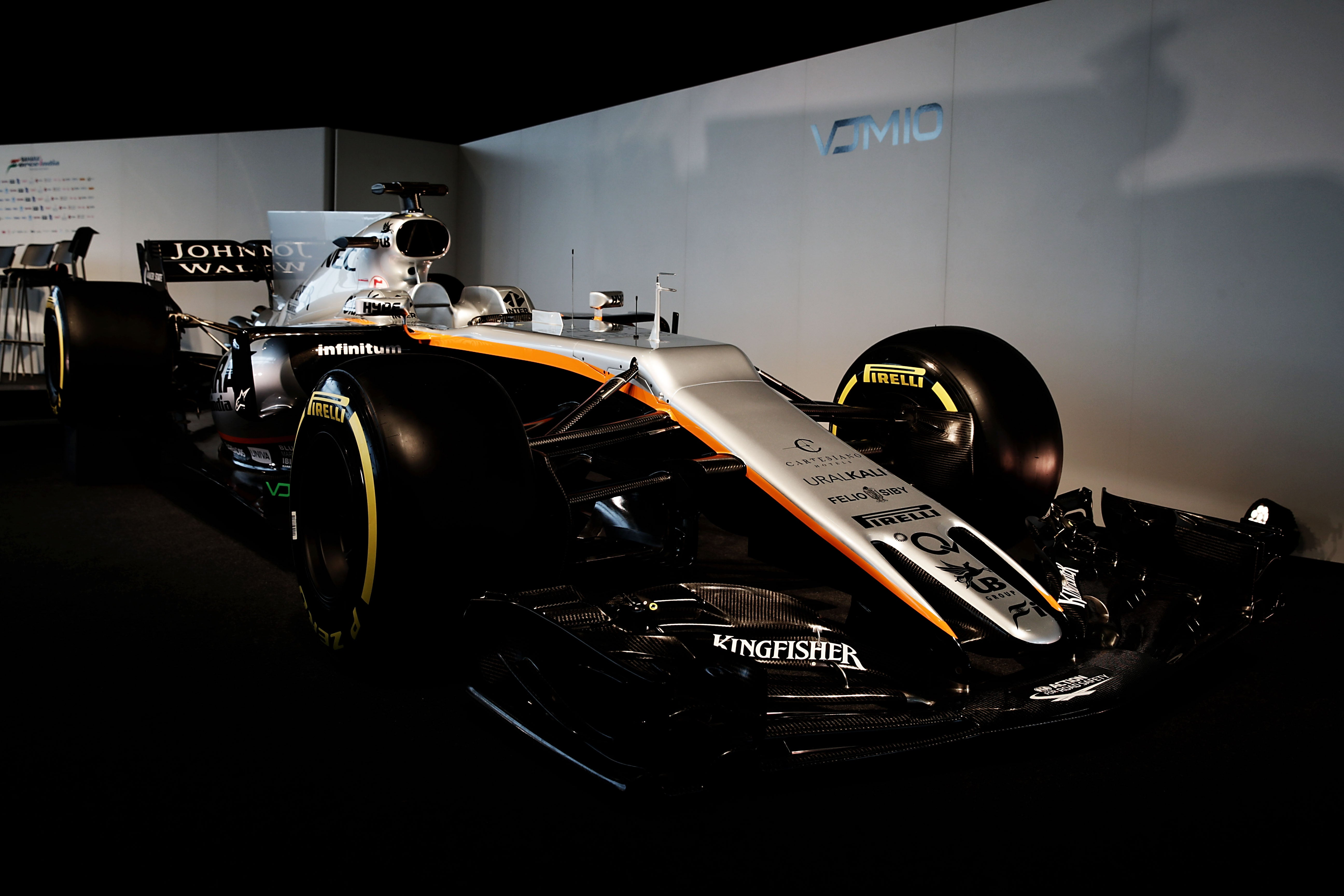This Is Why Force India's New F1 Car Has The Most Awkward Front End