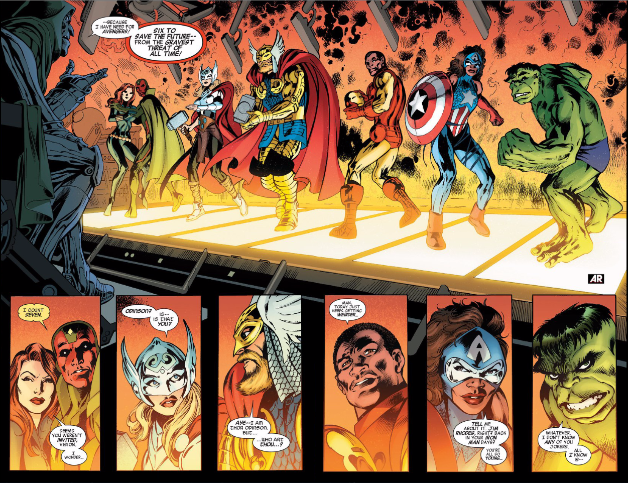 Yeah, Ultron's In This Avengers Comic, But It's Not Just a Dumb Cash-In