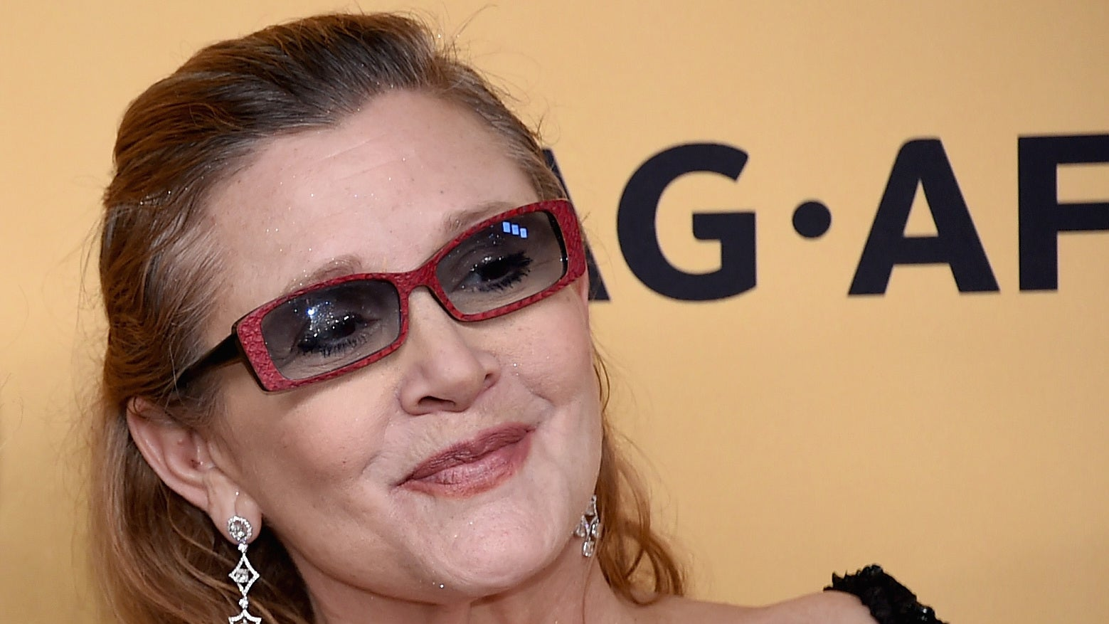 Carrie Fisher's First And Only Grammy Win Was Bittersweet